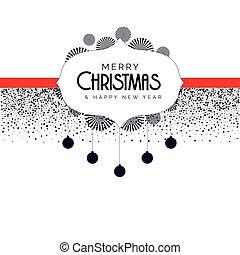dekorative elemente, weihnachten, hintergrund