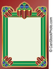 Dekorative frame
