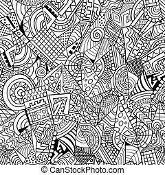 dekorativt mønster, geometriske, abstrakt