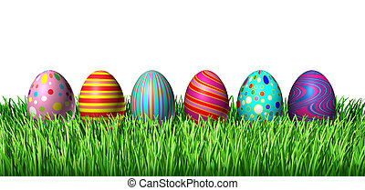 dekorerada ägg