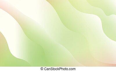deksels, gradient., kleur, wave., textuur, creatief, lijnen, vector, illustratie, achtergrond, voorbeelden, kaarten, set.