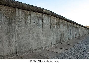 del av, den, berlin vägg