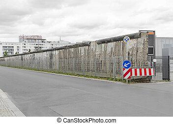 del av, den, berlin, wall.