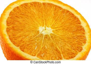 delad, apelsin