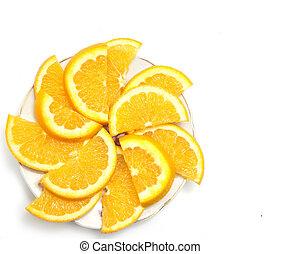 delad, ??orange