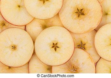delad, tillsluta, apple.