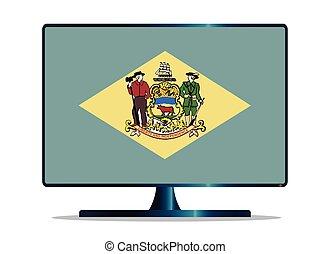 Delaware Flag TV