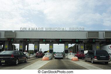 Delaware Memorial Bridge Tollbooth