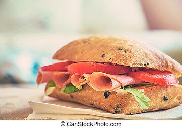 Delecious sandwich