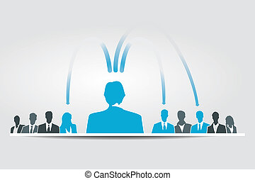 Delegating responsabilities - The difficult task of...