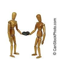 delen, liefde