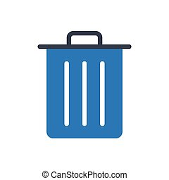 delete glyph color icon