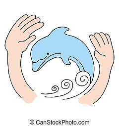 delfino, protezione