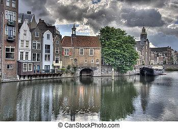 delfshaven, hollande