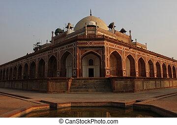 delhi, humayun, tumba, india