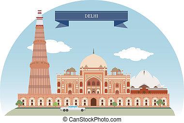 delhi, indien