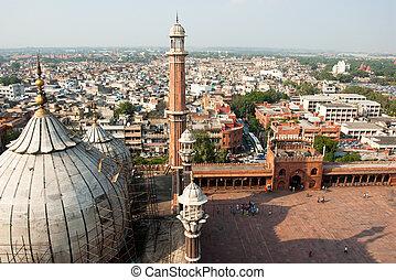delhi, masjid, jama