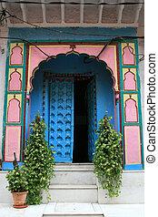 delhi, vieux, inde