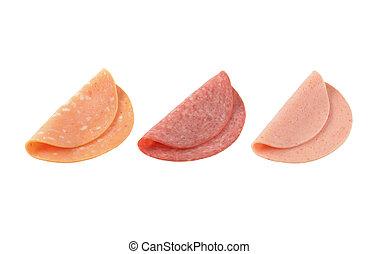 deli 肉, 薄くなりなさい, に薄く切る