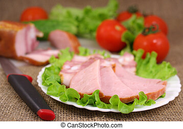deli, 野菜, 肉