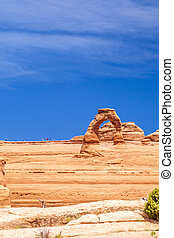 Delicate Arch Monument