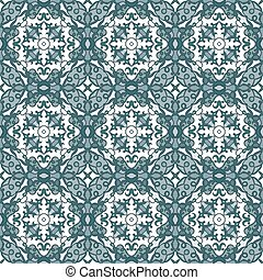 blue and white seamless pattern