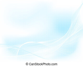 Abstract background of delicate blue colours