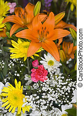 Delicate - bouquet, bunch of flowers, spring