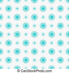 Delicate floral seamless background with blue flowers.