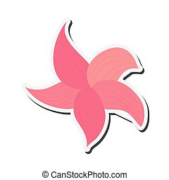 delicate flower icon