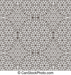Delicate pattern in arabic style