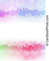 delicato, sfondo rosa, con, pastel., eps, 8