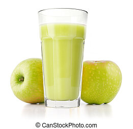 Delicious apple juice