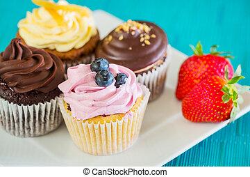 Cupcakes - Delicious Assortment of Beautiful Cupcakes