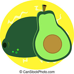 Delicious Avocado - Here is a special fruit that is...