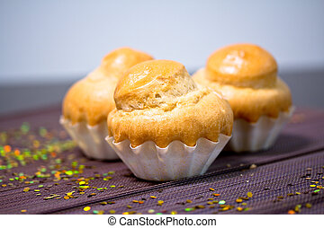 delicious bakery, French muffin - a delicious bakery recipe...