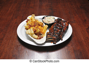 Delicious Barbeque Ribs