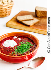 Delicious Beetroot Soup