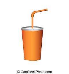 delicious beverage soda icon