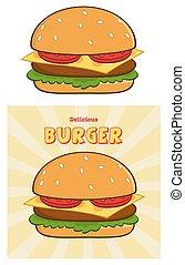 Delicious Burger Collection Set