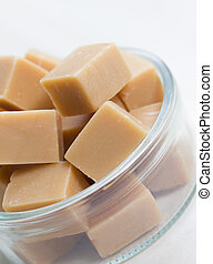 butter fudge - delicious butter fudge pieces