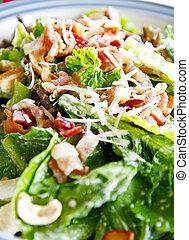 Delicious ceasar salad