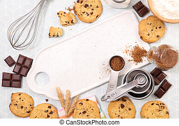 delicious chocolate cookie