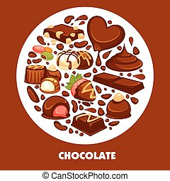 Delicious chocolate products of high quality promotional...
