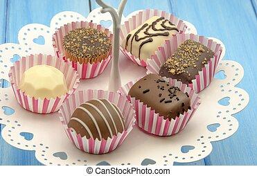 Delicious chocolates