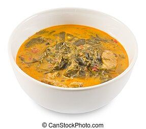 Delicious Coconut Milk Curry with Cassia Leaves