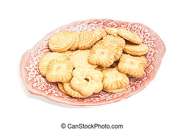 delicious cookies on a plate