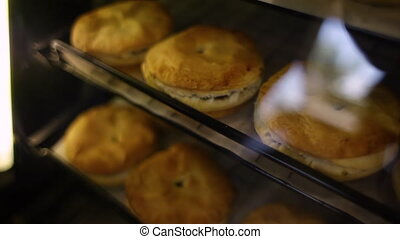 Delicious displayed pastry - A close up shot of different...