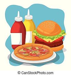 delicious fast food menu