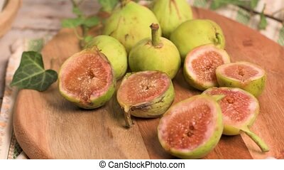 Delicious figs on kitchen coutertop - Delicious figs on top...